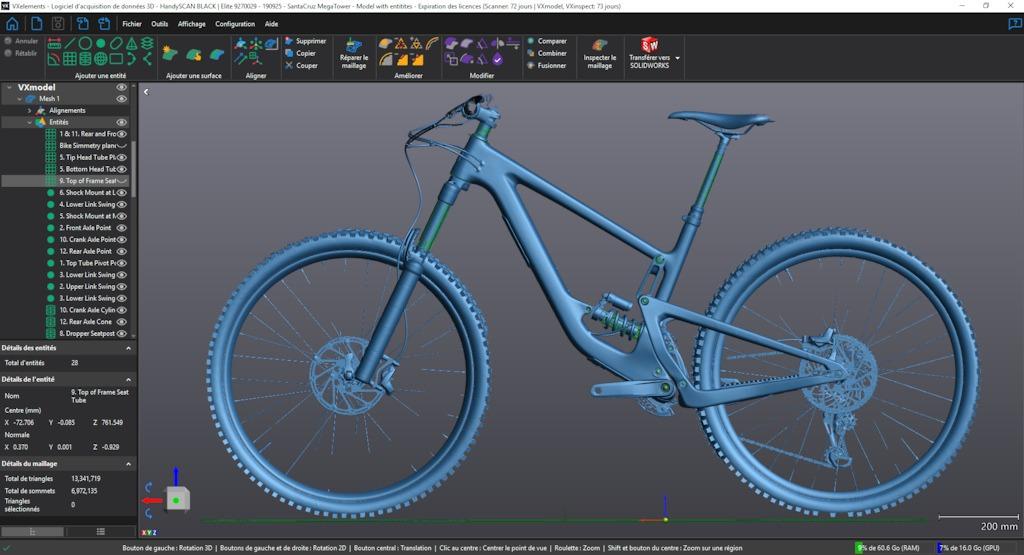 Bicycle wheel - 3D modeling